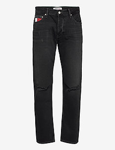 ETHAN RLXD STRAIGHT SSPBBRSD - regular jeans - save sp bk bk rgd spr destr