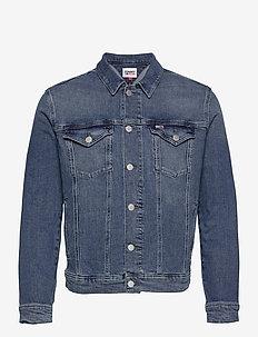 REGULAR TRUCKER JACKET LMBC - jeansjacken - lincoln mb com