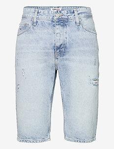 ETHAN RLXD DENIM SHORT SSPLBRD - denim shorts - save sp lb rgd destr
