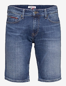 SCANTON SLIM DENIM SHORT HMBS - denim shorts - hampton mb str