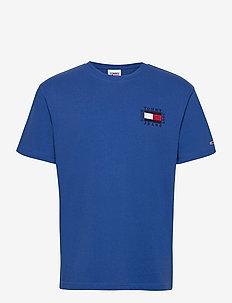 TJM BOX FLAG TEE - basic t-shirts - providence blue