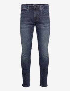 AUSTIN SLIM TPRD BE165 BBKS - slim jeans - denim dark