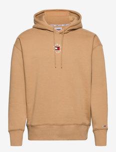 TJM TINY TOMMY CIRCULAR HOODIE - hoodies - classic khaki