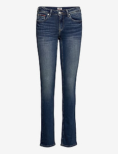 MID RISE STRAIGHT SANDY RBST - slim jeans - royal blue stretch