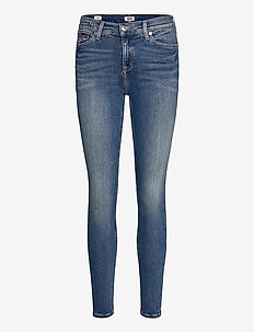 MID RISE SKINNY NORA RBST - skinny jeans - royal blue stretch