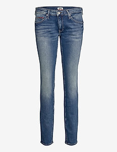 LOW RISE SKINNY SOPHIE RBST - skinny jeans - royal blue stretch
