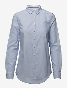 TJW ORIGINAL LIGHT OXFORD SHIRT - SERENITY