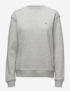 TJW TOMMY CLASSICS SWEATSHIRT - sweatshirts - lt grey htr
