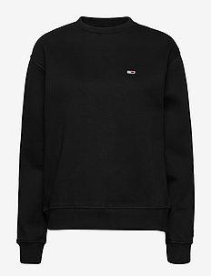 TJW TOMMY CLASSICS SWEATSHIRT - sweatshirts - tommy black