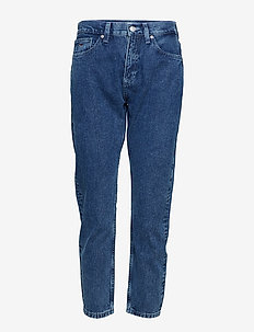 HIGH RISE SLIM IZZY, - slim jeans - eighties mid bl rig