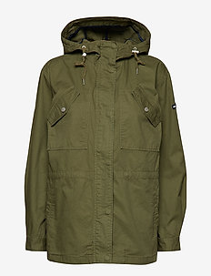 TJW ESSENTIAL COTTON - BURNT OLIVE