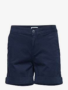 TJW ESSENTIAL CHINO SHORT - BLACK IRIS