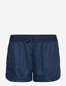 TJW CASUAL SOLID SHORT - BLACK IRIS