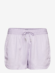 TJW CASUAL SOLID SHORT - PASTEL LILAC