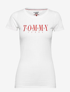 TJW CASUAL TOMMY TEE - CLASSIC WHITE