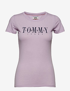TJW CASUAL TOMMY TEE - PASTEL LILAC