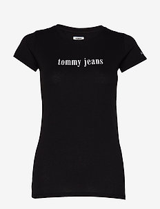 TJW ESSENTIAL SLIM T - TOMMY BLACK