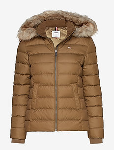 TJW ESSENTIAL HOODED - padded jackets - capers