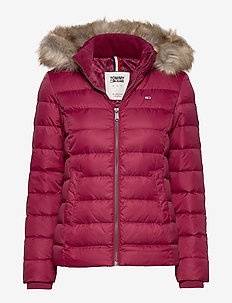TJW ESSENTIAL HOODED - padded jackets - rhododendron