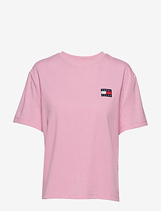TJW TOMMY BADGE TEE - LILAC CHIFFON