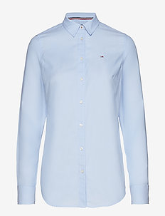 TJW SLIM FIT OXFORD SHIRT - SERENITY