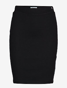 TJW PIPING BODYCON S - TOMMY BLACK