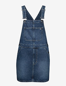 DUNGAREE DRESS TJSM - TJ SAVE MID BL RIG