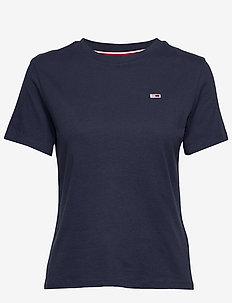 TJW TOMMY CLASSICS T - t-shirts - black iris