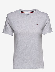 TJW TOMMY CLASSICS T - t-shirty - pale grey htr