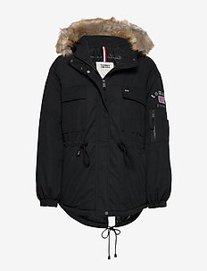 TJW EXPEDITION WAISTED JACKET - parka coats - tommy black