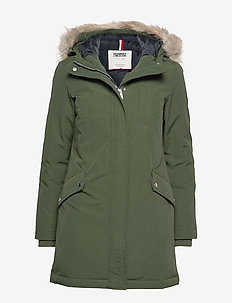TJW TECHNICAL DOWN PARKA - parka coats - kombu green
