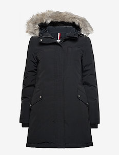 TJW TECHNICAL DOWN PARKA - parka coats - tommy black