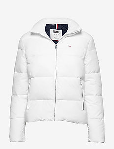TJW MODERN PUFFA JACKET - SNOW WHITE