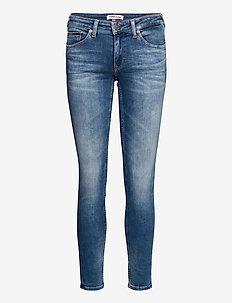 SOPHIE LOW RISE SKINNY  MNM - skinny jeans - maine mid bl str
