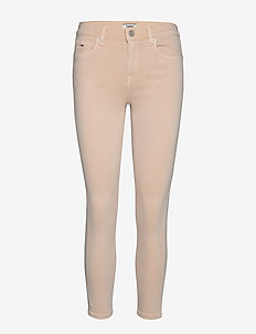 NORA MID RISE SKINNY ANKLE PMC - dżinsy skinny fit - pumice stone str