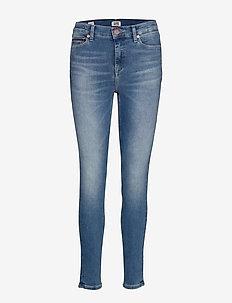 NORA MID RISE SKINNY VCTYL - skinny jeans - victory lt bl str