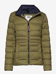 TJW MODERN DOWN JACKET - padded jackets - martini olive