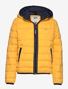 TJW QUILTED TAPE DETAIL JACKET - down- & padded jackets - spectra yellow