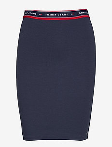TJW BODYCON SKIRT - BLACK IRIS