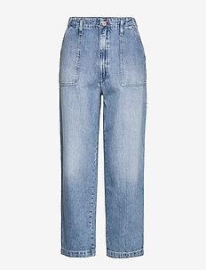 CARGO PANT  NTSLR - straight jeans - 90s light bl rig