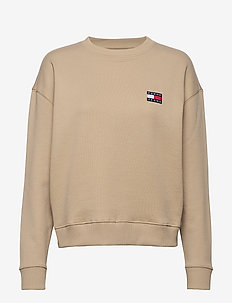 TJW TOMMY BADGE CREW - sweatshirts - silt
