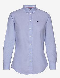 TJW SLIM FIT OXFORD SHIRT - langærmede skjorter - serenity