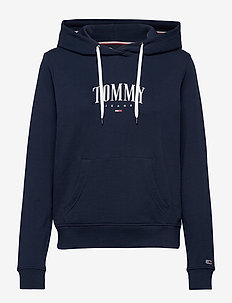 TJW ESSENTIAL LOGO HOODIE - hoodies - twilight navy