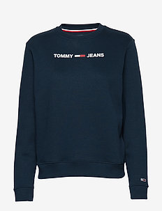 TJW ESSENTIAL LOGO SWEATSHIRT - TWILIGHT NAVY