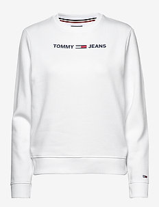 TJW ESSENTIAL LOGO S - sweatshirts - white