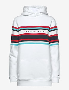 TJW RELAXED HOODIE - WHITE