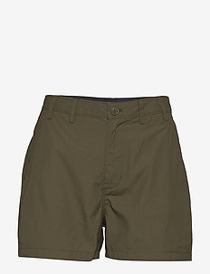 TJW ESSENTIAL CHINO SHORT - chino shorts - olive tree