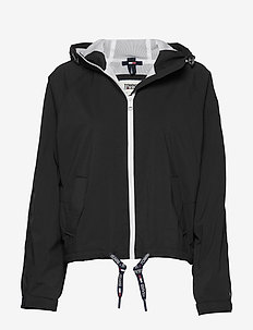 TJW BRANDED SLEEVES WINDBREAKER - vestes legères - black