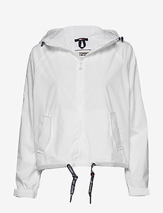 TJW BRANDED SLEEVES WINDBREAKER - lichte jassen - white