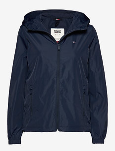 TJW CHEST LOGO WINDBREAKER - lichte jassen - twilight navy